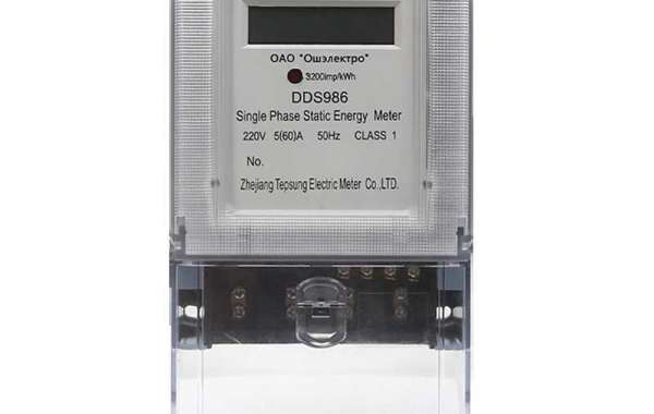 Electronic Energy  Meter -How Electric Meter Works