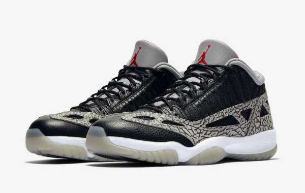 "Newest  Air Jordan 11 Low IE ""Black Cement"" 919712-006 Will Arriving On July 16th 2020"