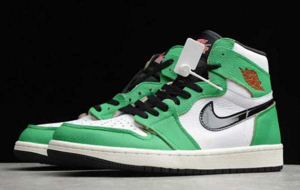 "The New AJ1 ""Lucky Green"" Is Exposed For The First Time!"