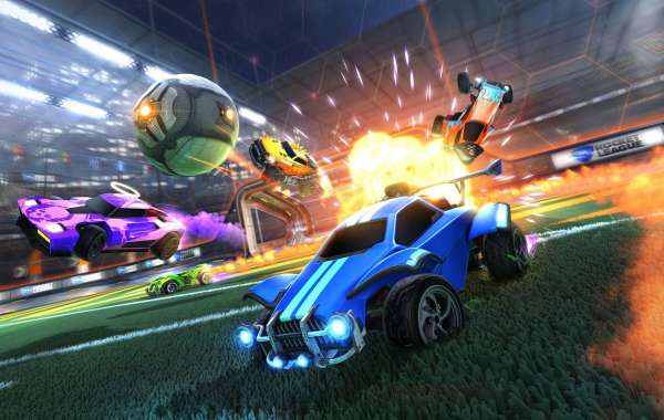 Toward the beginning of the ninth Rocket League Championship Series