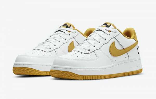 New 2020 Nike Air Force 1 GS DH2947-100 Sneaker  Information