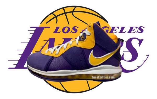 "New Nike LeBron 8 ""Lakers"" DC8380-500 Coming Back in December 2020"