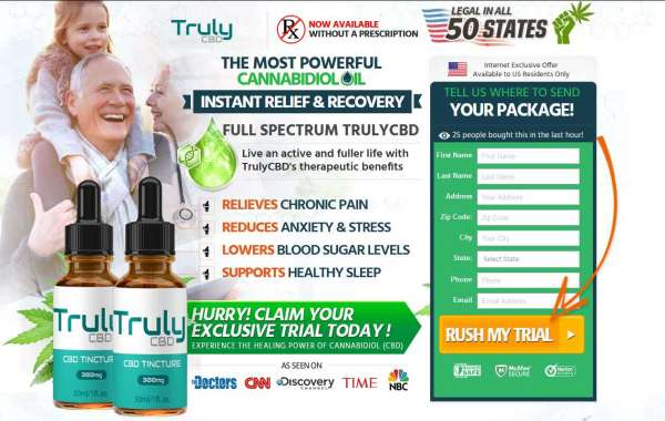 Truly CBD Oil– Reduce Stress, Depression & Pain Naturally!